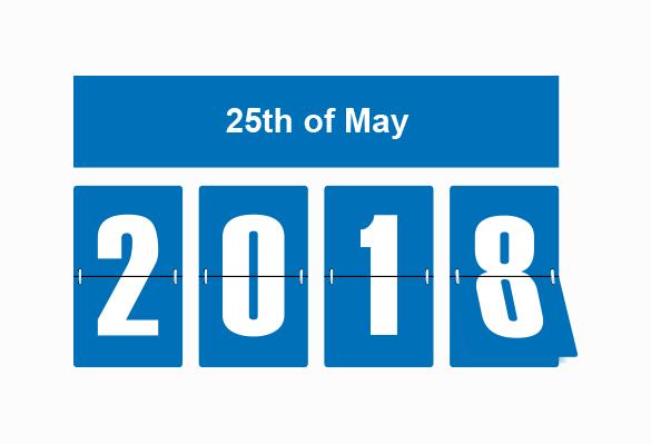 25th May 2018 GDPR