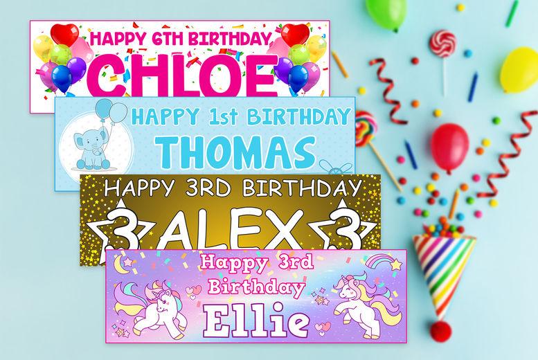 Signage | Birthday Banners